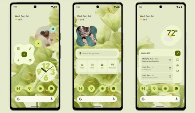 Android 12 stabile è disponibile per i Google Pixel: tutte le novità