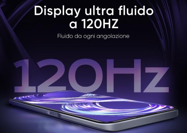 Realme 8i con display a 120Hz verrà presentato domani